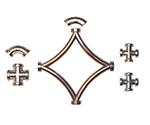 Профиль декоративный самоклеющийся